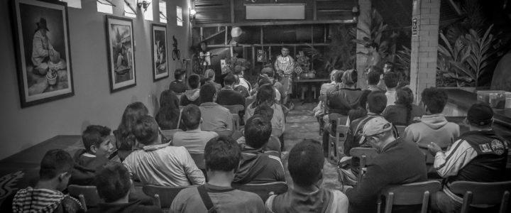 Conferencia de Prensa en El Batán, Chincha